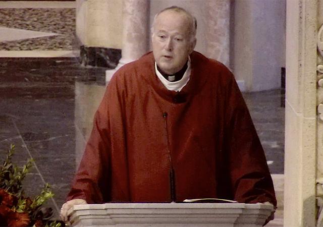 Bishop Robert McElroy at Mass of the Holy Spirit
