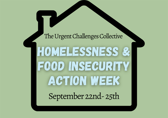 Homelessness and Food Insecurity Action Week