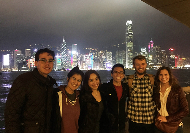 USD students studying abroad is one way Toreros spent the January Intersession.