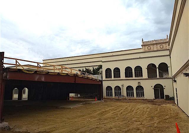 Loma Hall Annex Renovation construction underway