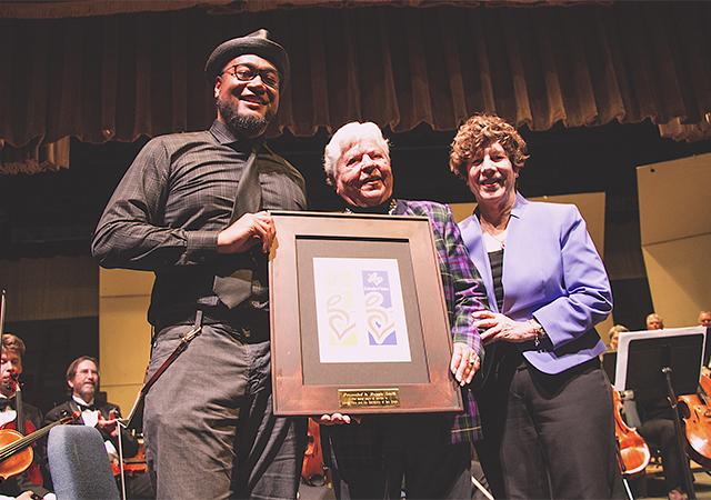 Reggie Smith Honored