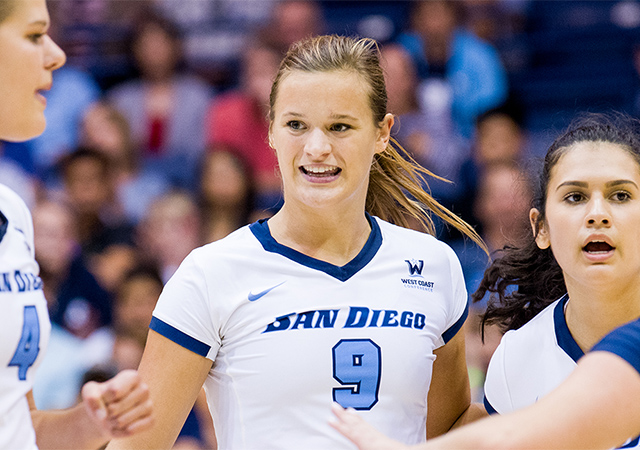 Volleyball's Megan Jacobsen