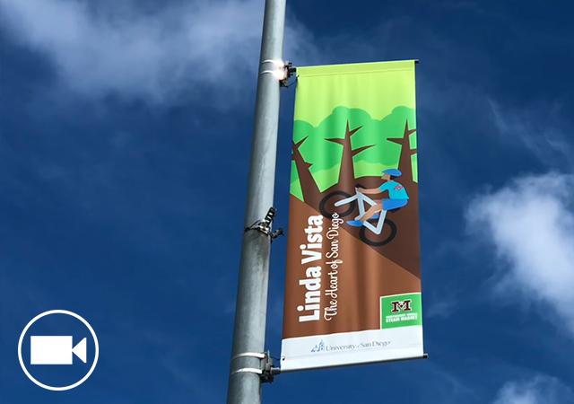 Linda Vista Road Banner Dedication