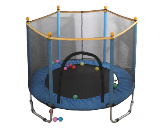 Cama saltarina para niños