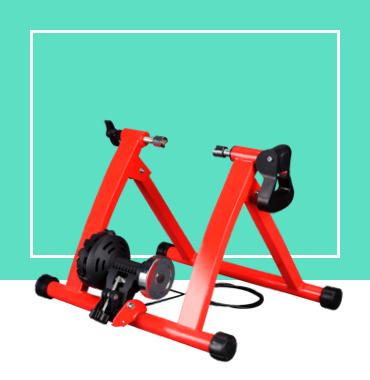 Rodillo de entrenamiento magnético para bicicleta