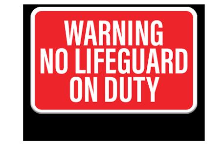 Pool No Diving Sign 2