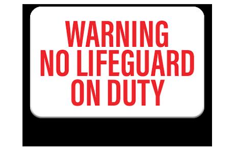 Pool No Diving Sign 3