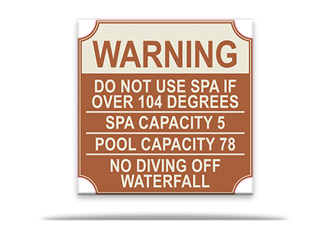 Spa Sign 104 Degrees Combined
