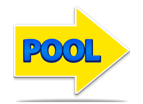 Pool Sign Directional