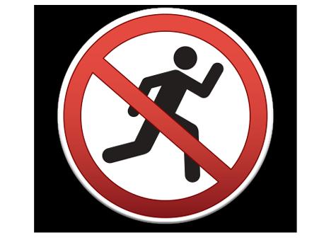 Pool Sign No Running