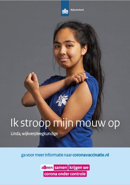 Poster Linda - wijkverpleegkundige