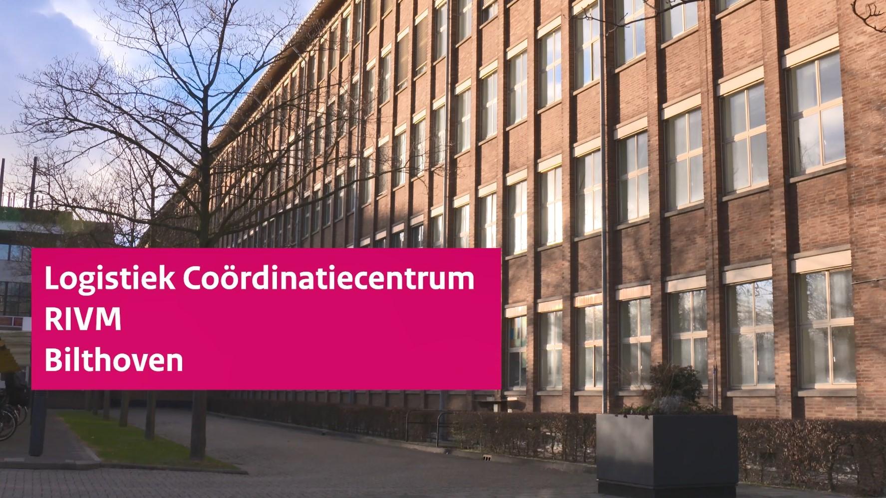 Video 'Logistiek Coördinatiecentrum RIVM'