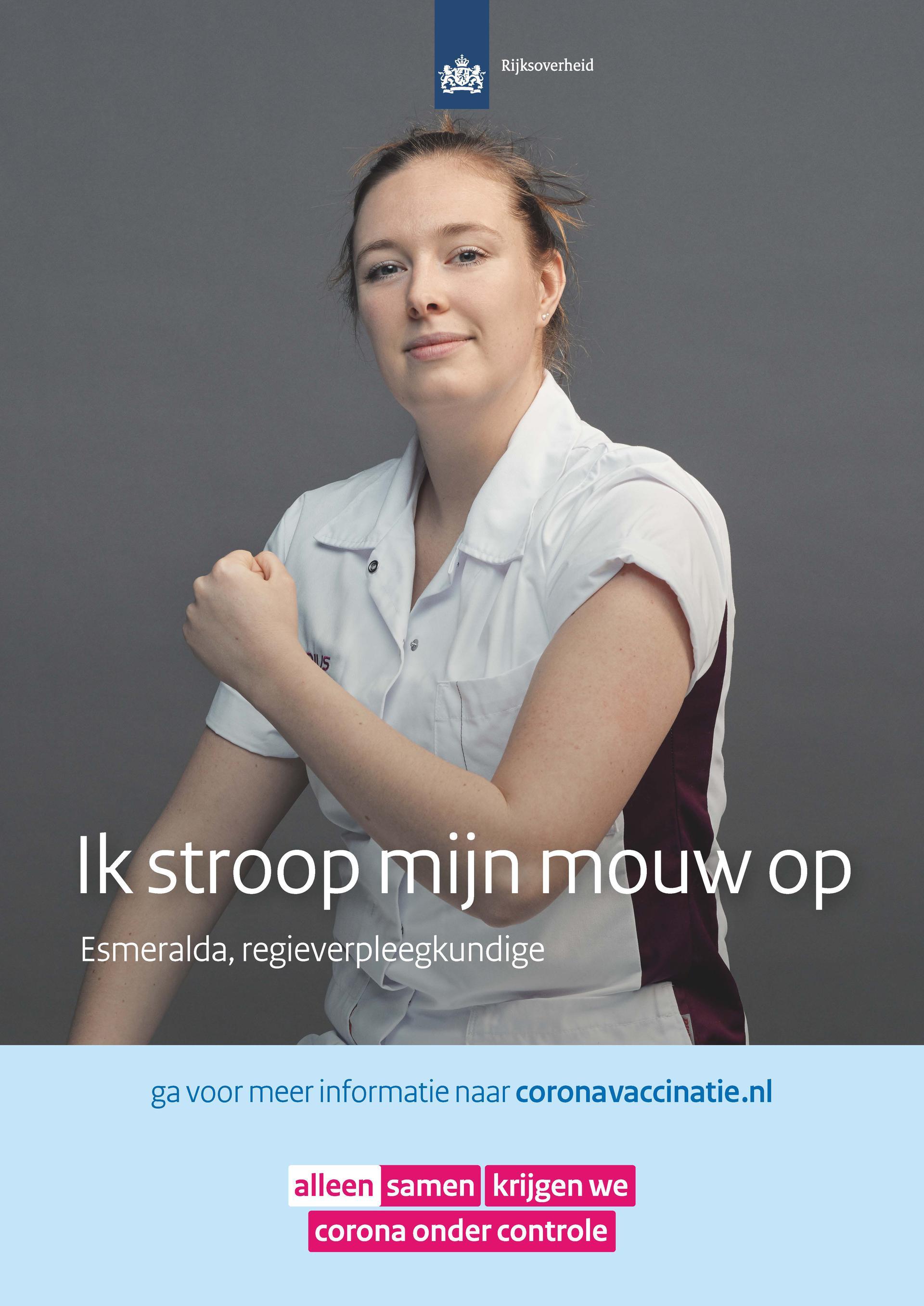 Poster regieverpleegkundige Esmeralda