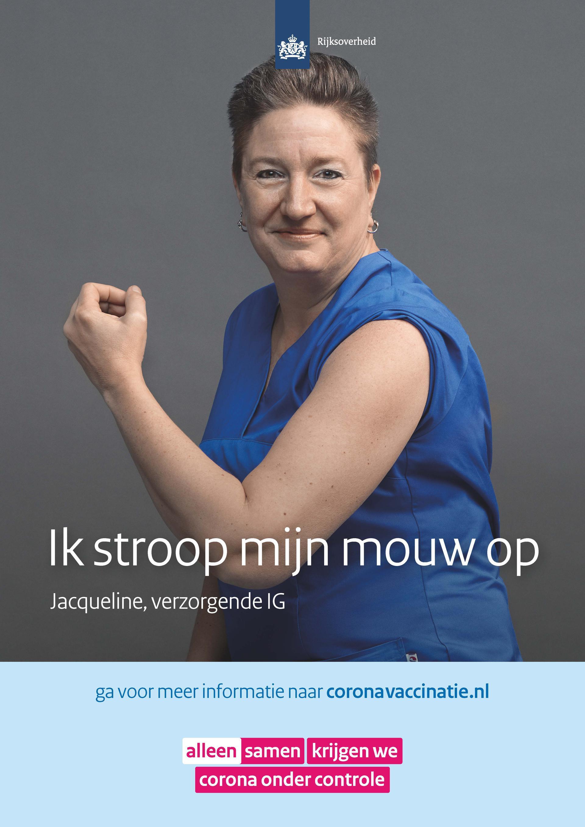 Poster verzorgende IG Jacqueline