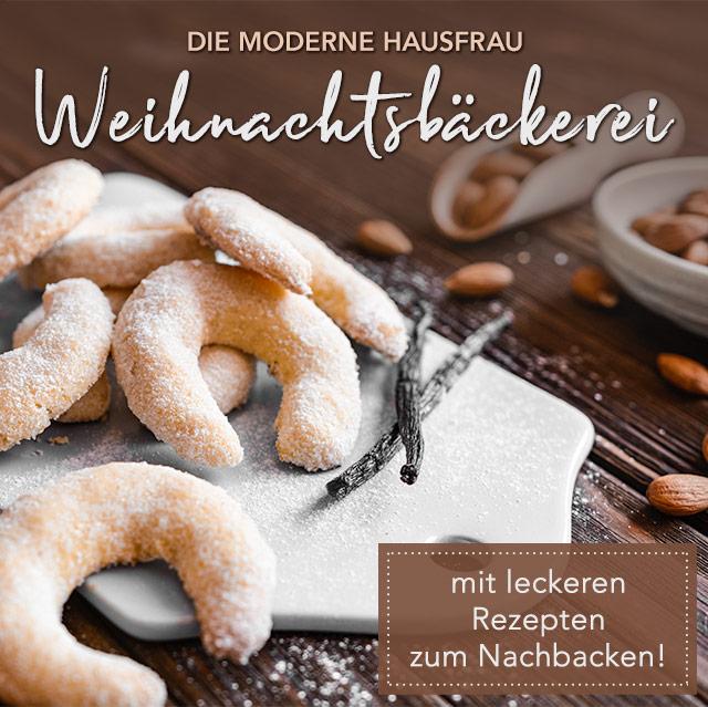 Die moderne Hausfrau Weihnachtsbäckerei