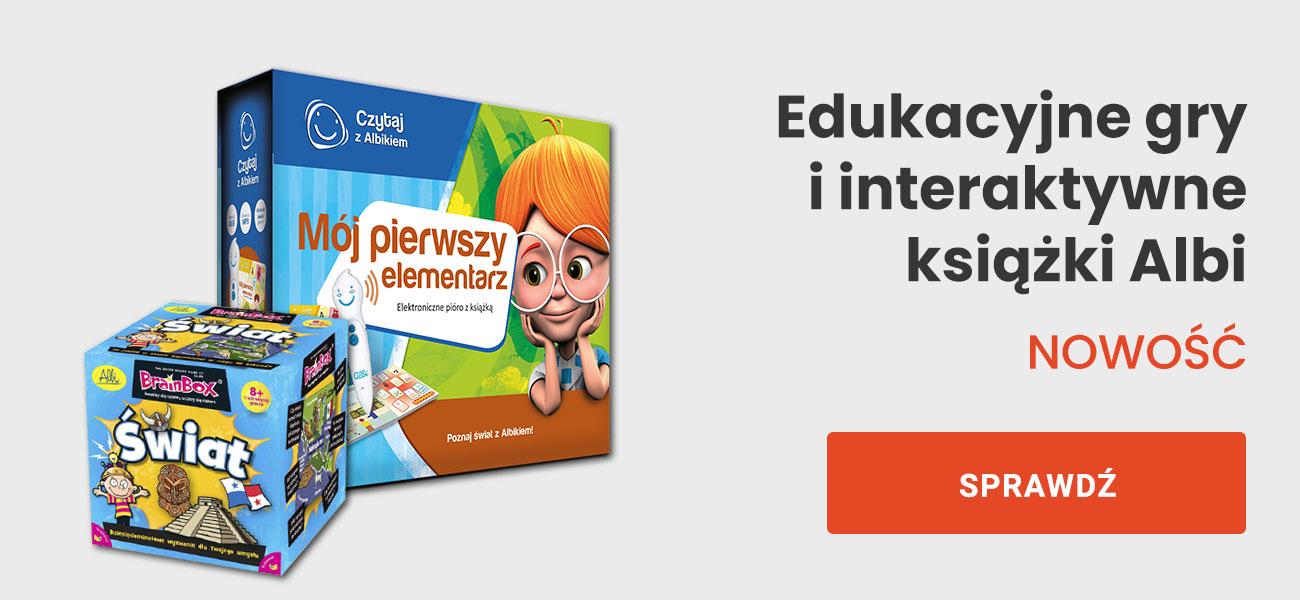 Edukacyjne gry i interakktywne książki Albi | NOWOŚĆ