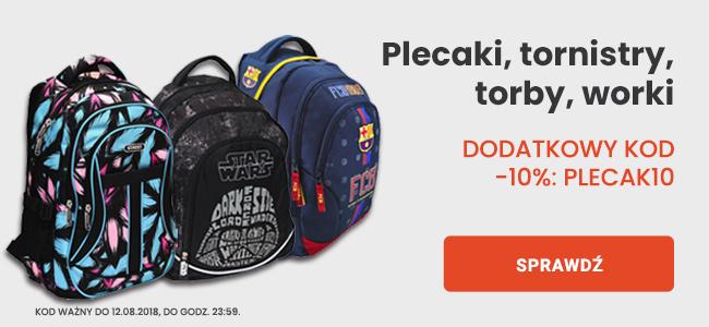 Plecaki, tornistry, torby worki | dodatkowy kod -10%: Plecak10