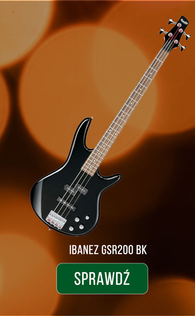 IBANEZ GSR200 BK
