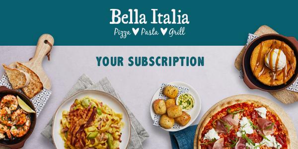 Bella Italia – Your Subscription