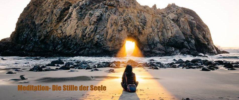 Meditation-Stille der Seele