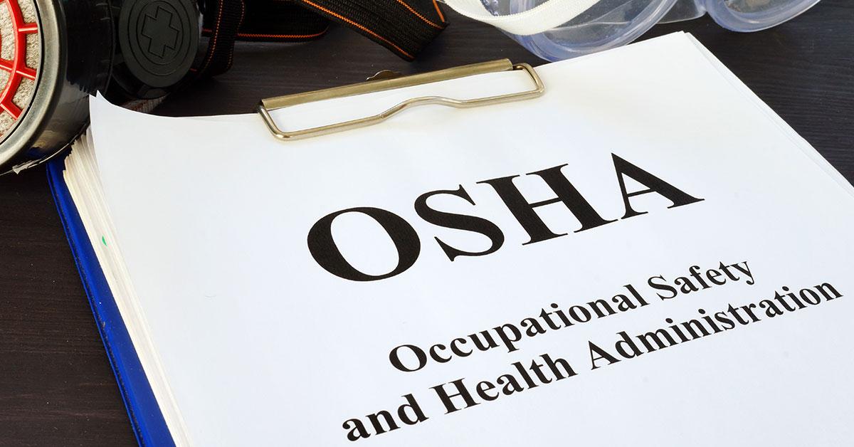 OSHA clipboard