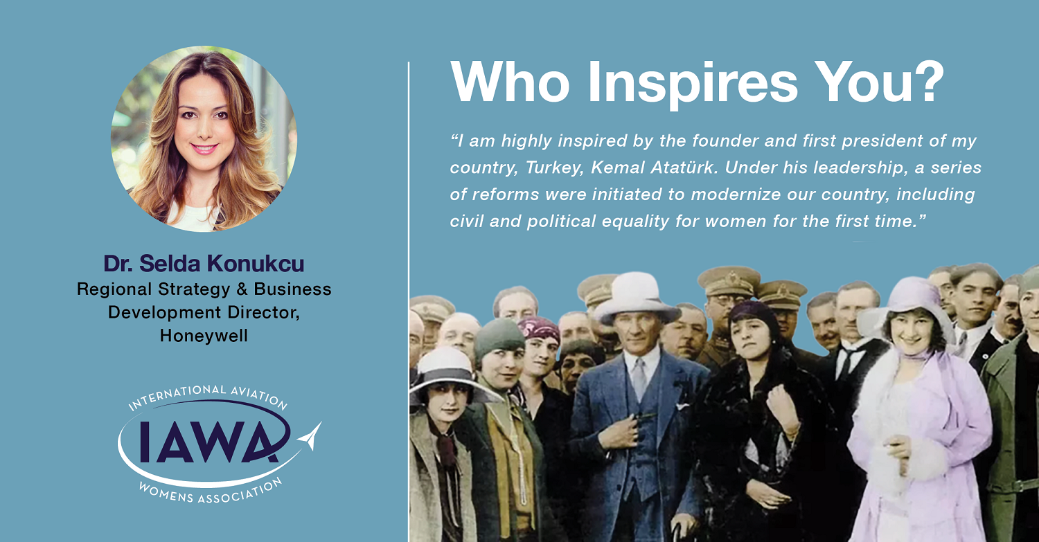 Dr. Selda Konukcu is inspired by the founder and first president of her country.