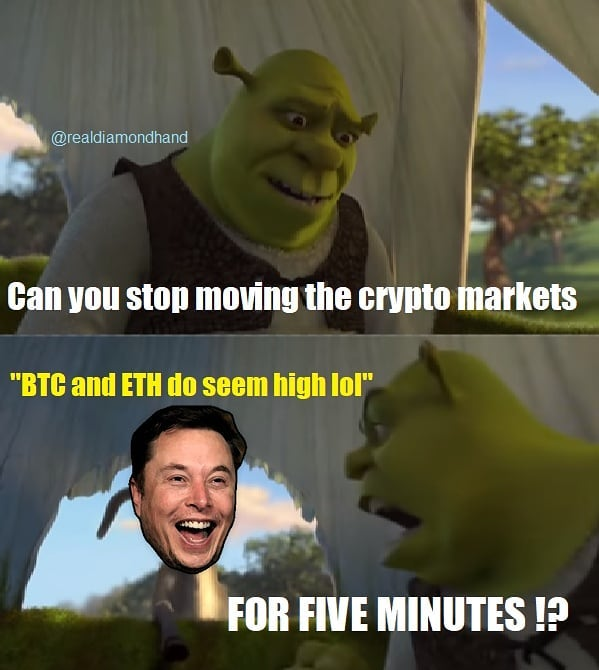 Funny talks about crypto markets