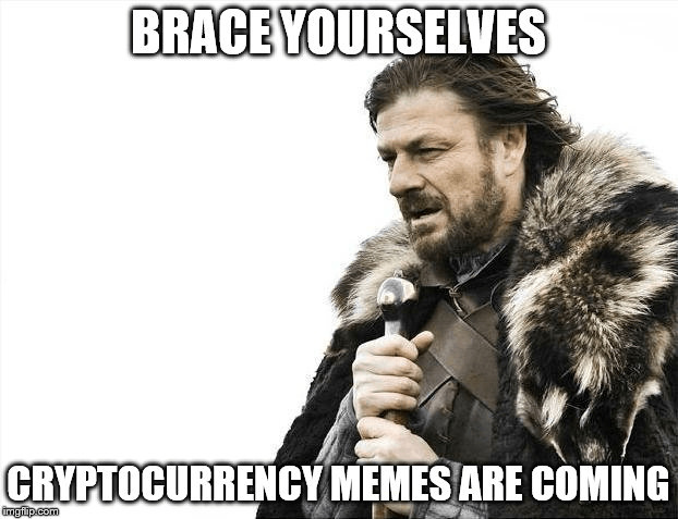 Cryptocurrency memes are coming