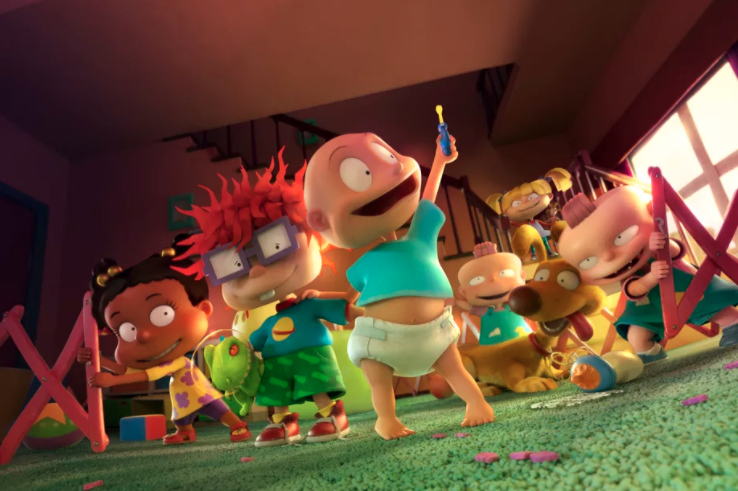 Nothing could possibly prepare 90s babies for a CG-animated Rugrats