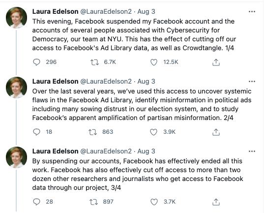 Tweets of Laura Edelson