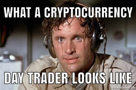 What a cryptocurrency day trader looks like
