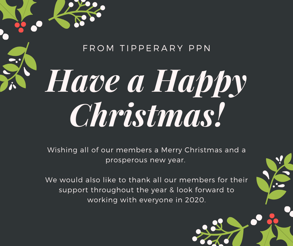 Wishing all of our members a Merry Christmas and a prosperous new year. We would also like to thank all our members for their support throughout the year & look forward to working with everyone in 2020.