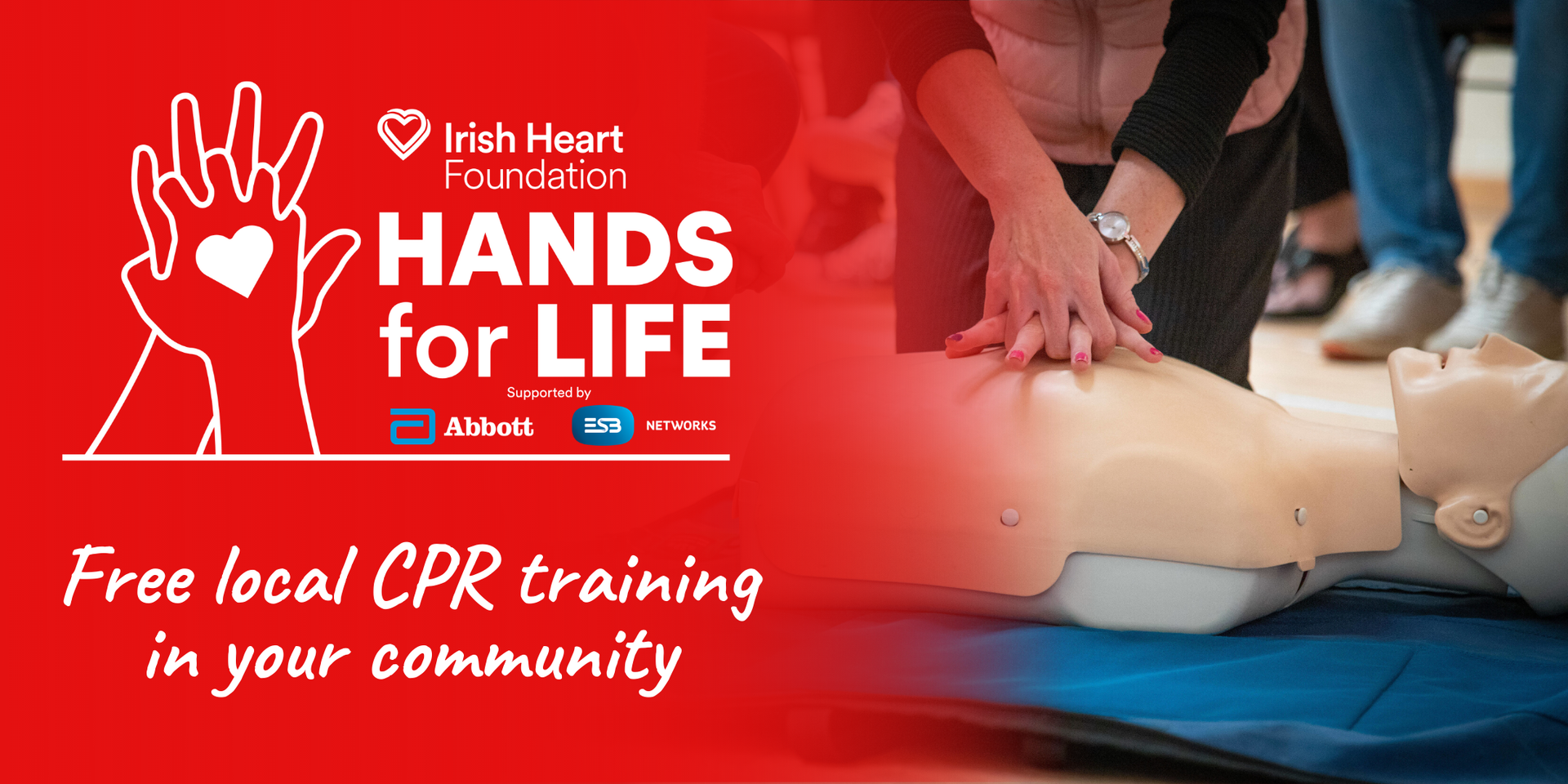 Hands for life -free local CPR training in your community