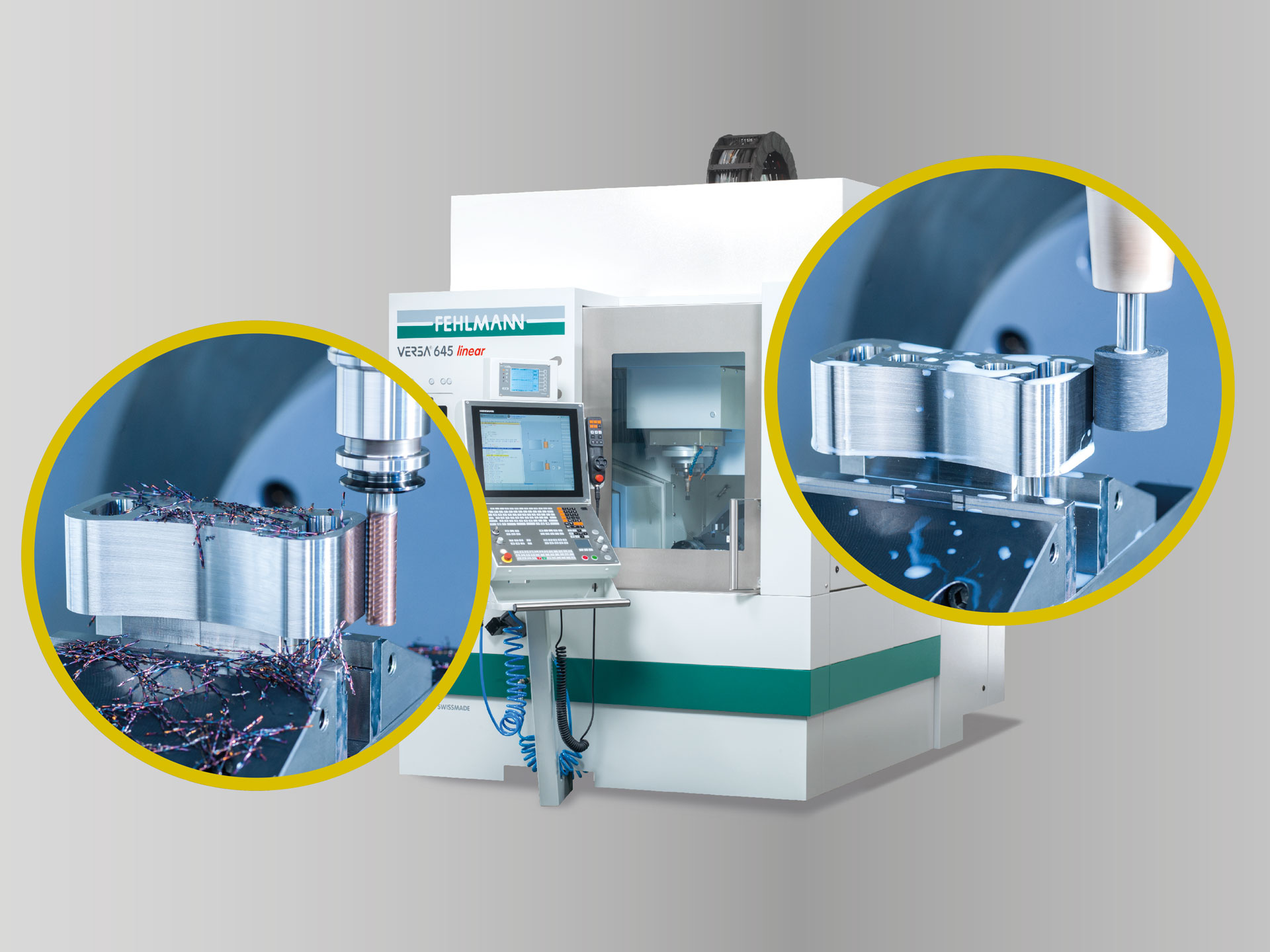 High-precision milling and coordinate grinding on the same machine