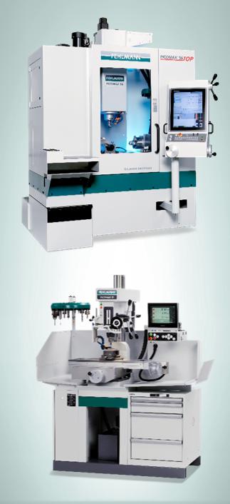Precision milling machines; PICOMAX 21-M, PICOMAX 56 TOP