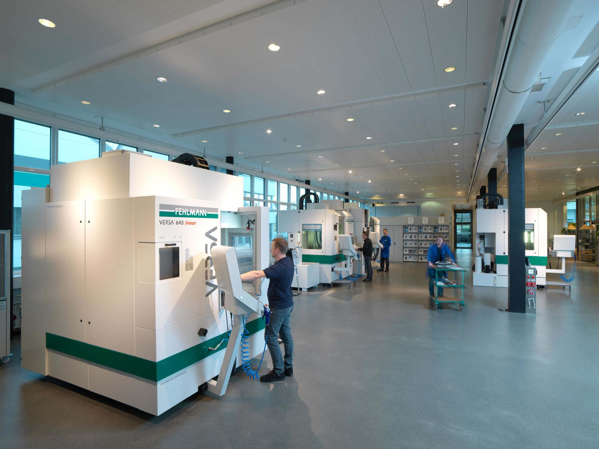FEHLMANN Showroom TechCenter Seon/Switzerland