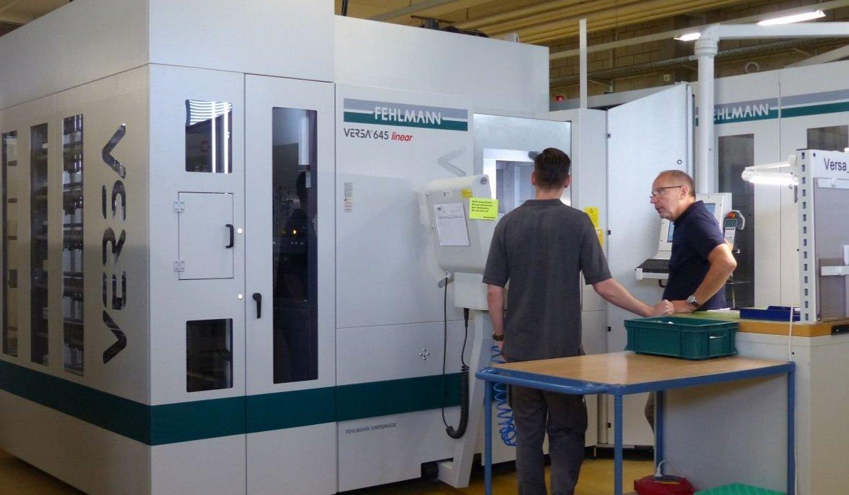 Amsler&Frey AG, VERSA 645 linear, 5-Achs-Bearbeitungszentrum