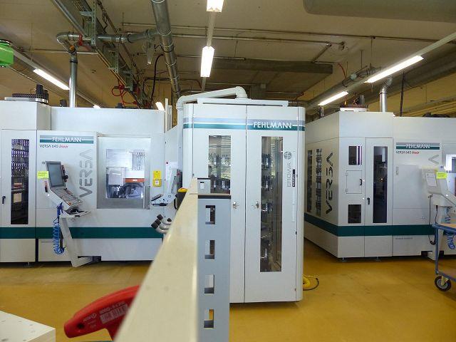 5-Achs-Bearbeitungszentrum VERSA 645 linear mit ERM