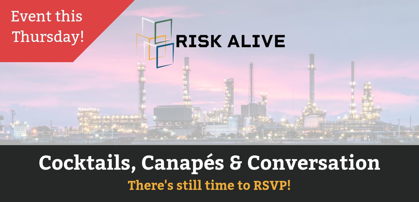 Risk Alive - Cocktails, Canapes & Conversation