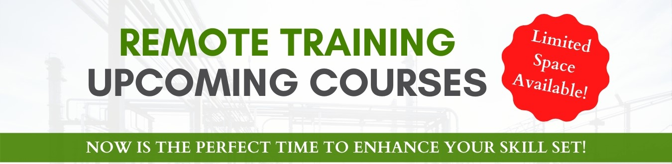 Remote Training - Upcoming Courses