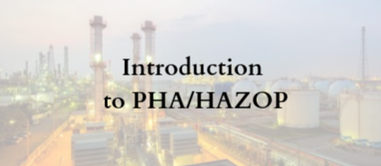 Introduction to PHA/HAZOP