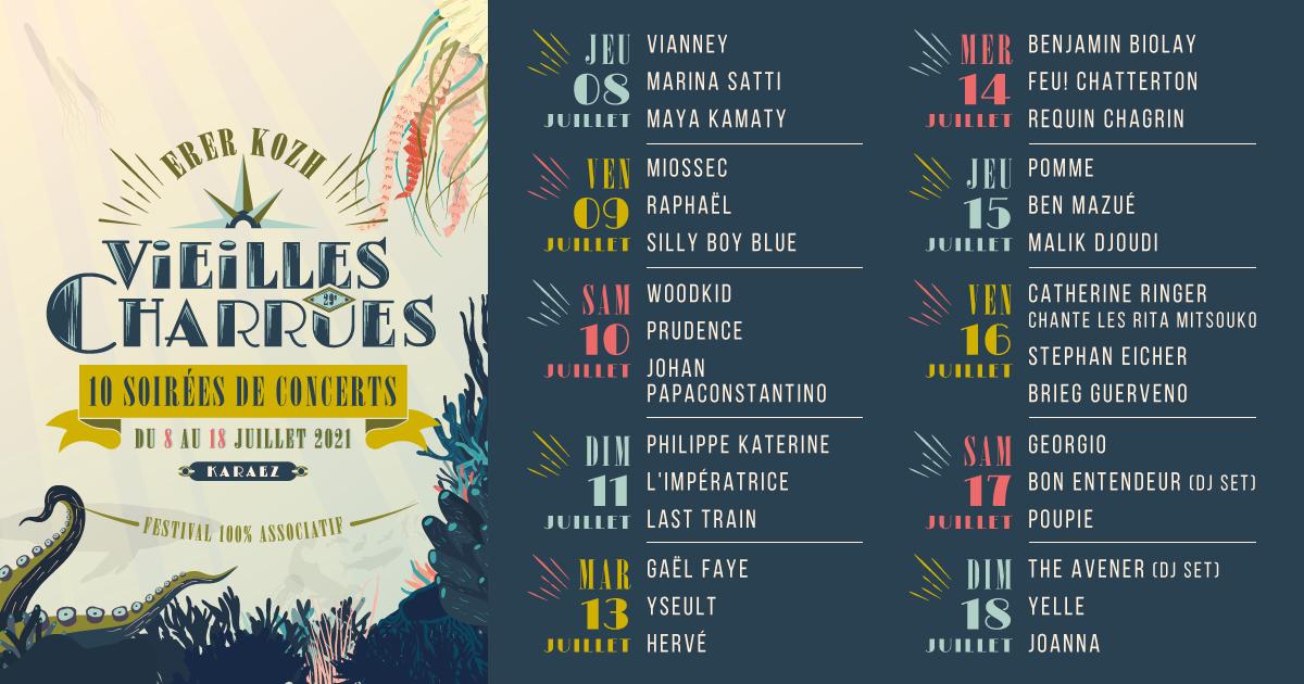 Festival : Les Vieilles Charrues annoncent des concerts... debout ! Annonce-VC-2021-FB-1200x630