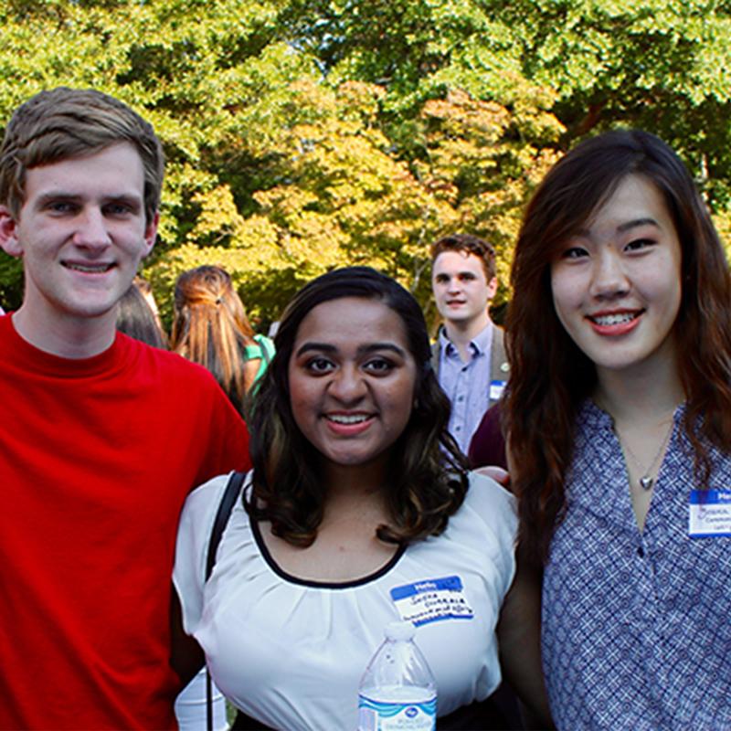 Image: UGA students
