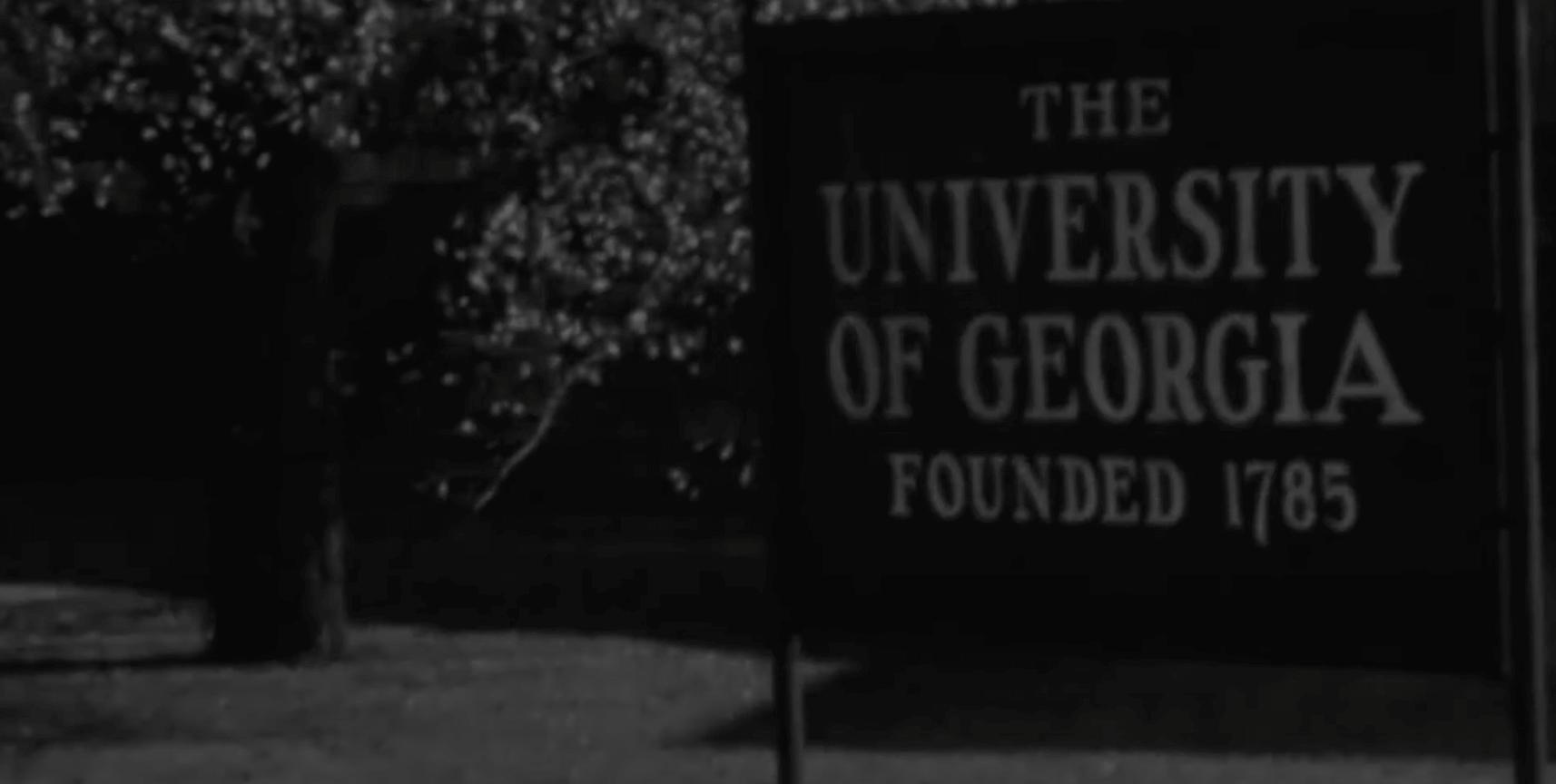 Old black and white UGA photo