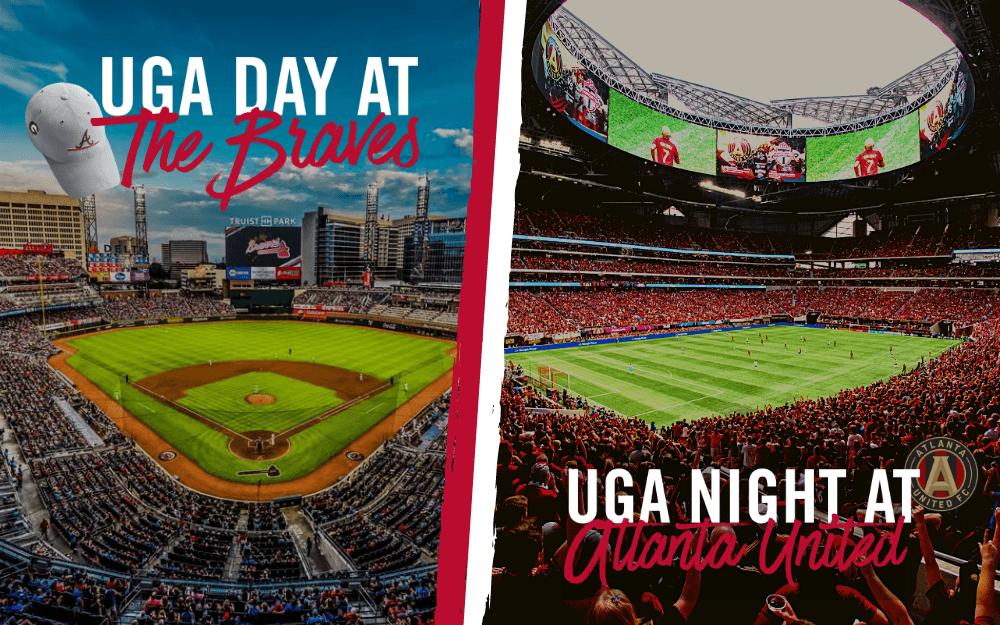 UGA Day at the Braves & UGA Night at ATL United