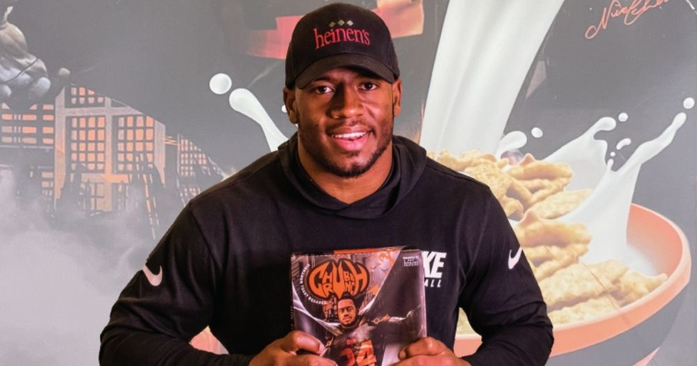 Chubb Crunch cereal