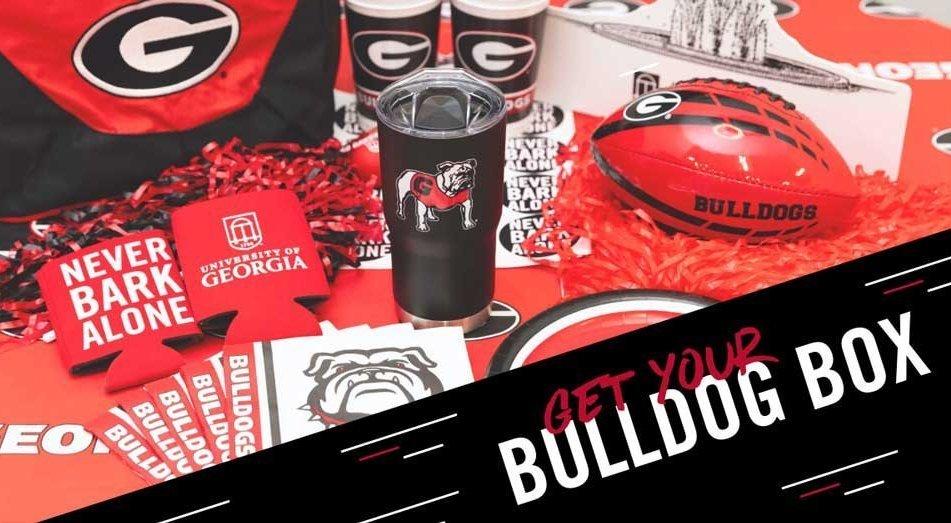 Bulldog Boxes: home game-watching kits