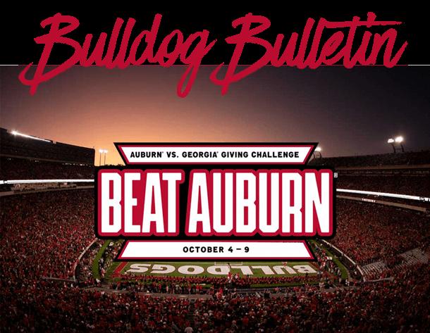 Auburn vs. Georgia Giving Challenge.