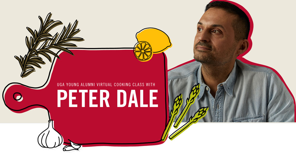 Virtual Cooking Class with Peter Dale