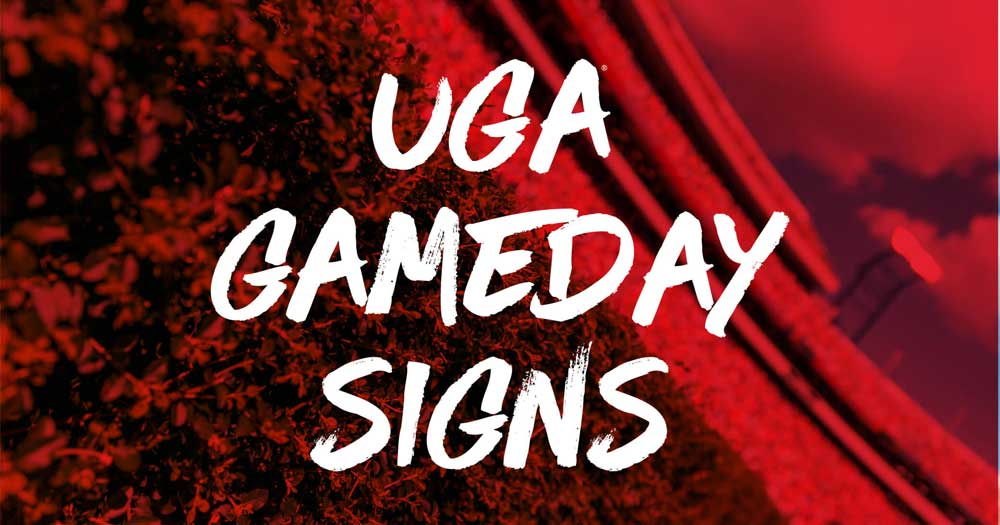 Gameday Sign Competition